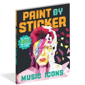Other - Paint By Sticker Music Icons